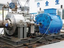 Bơm loại bỏ nhiệt lượng dư thừa cho nhà máy điện hạt nhân